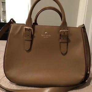 Kate Spade tan purse